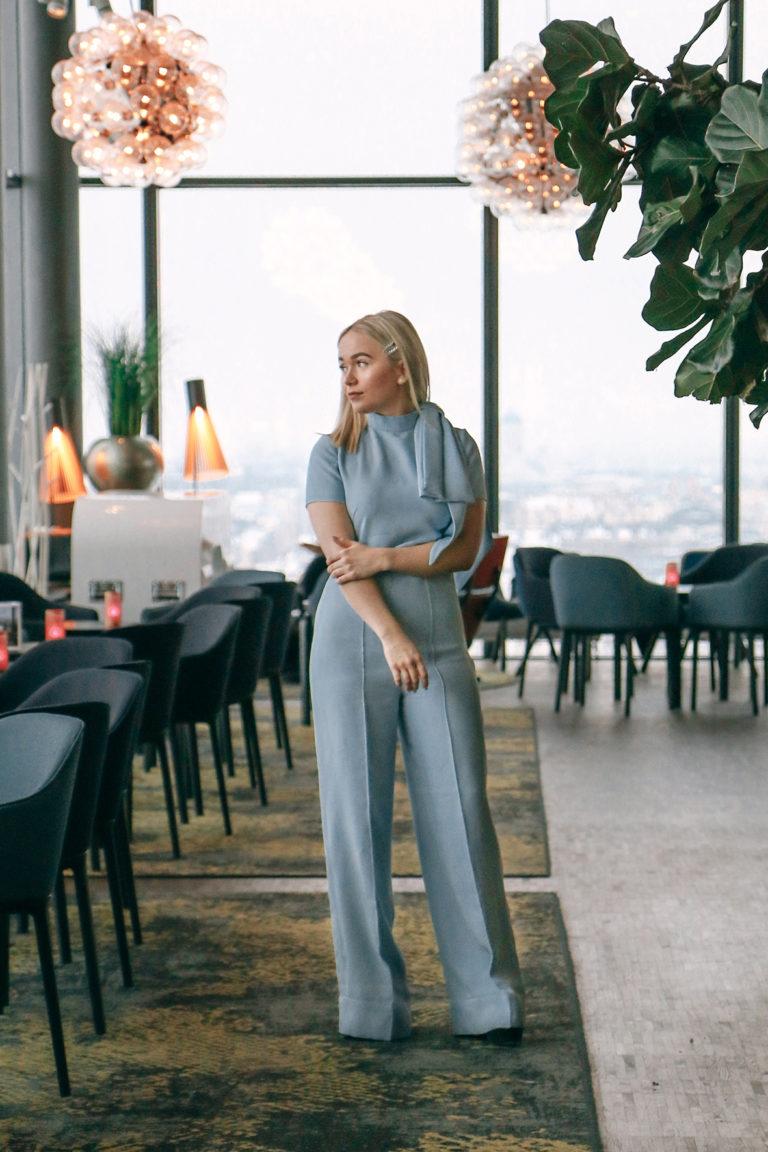 Wide leg trousers Juulia Peuhkuri